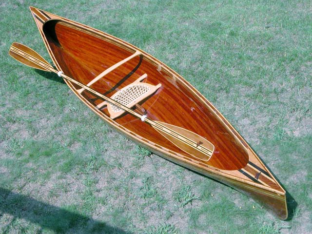 how to build a canoe out of wood